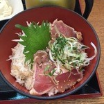 こめらく - キハダまぐろのたたきおひつ飯♫2015/8