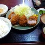40709492 - ヒレかつ定食☆