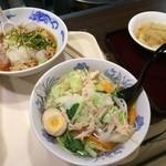 麺処 山百合 - これで1770円、環境価格かな(笑)料理は酷い