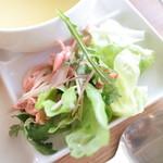206 - 鶏のササミサラダ (単品250円) '15 7月中旬