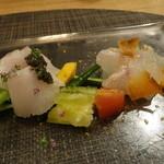 北新地 海櫻 - ☆キャビアとカラスミのお魚のカルパッチョ☆
