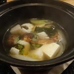 北新地 海櫻 - ☆鱧と松茸の土鍋料理(●^o^●)☆