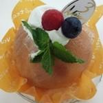 40713220 - 桃のケーキ