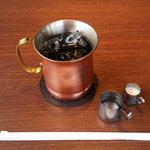 星乃珈琲店 - アイスコーヒー(税込250円)『ランチタイム価格』