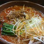 味噌屋麺四朗 - 担々麺(辛さ2倍)