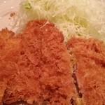 赤坂やげん亭 - とんかつ定食 2015.7