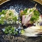 鮨四季の味 しおん - 鰹、さんま
