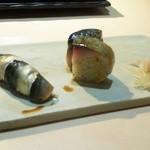 鮨四季の味 しおん - しんことゴマサバ