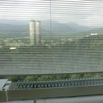 星野リゾート リゾナーレ トマム - バブリーなジャグジーから見える景色