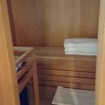 星野リゾート リゾナーレ トマム - 部屋のサウナ