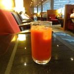 エアポートラウンジ - トマトジュース