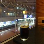 エアポートラウンジ - アイスコーヒー