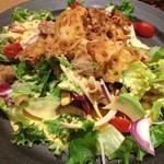 白木屋 - 蓮根と甘辛豚肉の贅沢コブサラダ