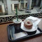 スターバックス・コーヒー - シュガードーナツ&アイスコーヒー