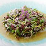 なっぱjuicy - 日替わり鮮魚のカルパッチョ