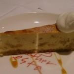 40723291 - 2015年8月ランチデザートのチーズケーキ