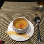 40724085 - ラタトゥイユ風イエローパプリカのスープ