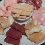 恵比寿焼肉 うしごろバンビーナ - 極上ホルモン特選盛り【2015年7月】