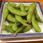 一軒め酒場 - 枝豆(¥150)(^_^)