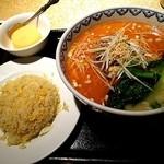 40726278 - 担々麺&チャーハン