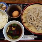 お食事処きたむら - 地鶏せいろ970円+卵かけごはん310円