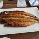 杉国商店 - サバ干物焼き