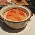 スカイレストランアンドラウンジ L&R - トマトと豚肉のグラタン