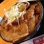 銀の舞 - バラ豚丼