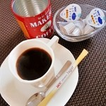 Cafe&IT Fiesta - ホットコーヒー セット 216円 単品 440円 2015/08