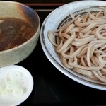 武蔵野うどん 一彩 - 鴨汁うどん中 2015.8