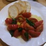 40730673 - フルーツトマトのバジル炒め