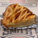 GRANNY SMITH APPLE PIE & COFFEE  - アップルパイ(イングランドカスタード)