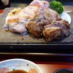 ステーキハウス 大和 - シャロレー牛の子牛ステーキ180g(1800円)