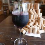 酒井ワイナリー - 赤ワイングラス400円