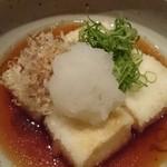 磯一 - 揚げ出し豆腐 2015/8