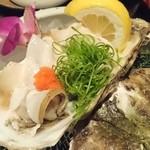 磯一 - 岩牡蠣 2015/8