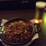 40735578 - ジャンバラヤです。                       パラペーニャが効いていて旨辛でビールが進みます(笑)。