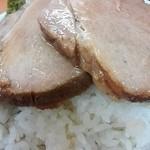 極楽汁麺 らすた - on the rice!