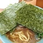 極楽汁麺 らすた - チャーシュー麺¥870+のり増し¥100