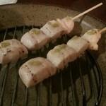 炭火焼鳥 風 - 料理写真:ささみわさび
