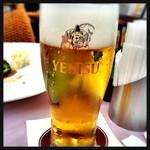 40736924 - エビス生ビールグラス 560円