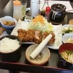 rengaya - 上質なお肉をトンカツでいただけます、「霜降りロースカツ御膳 240g (2180円)」
