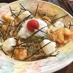 ほりのうち - 揚げ餅入り海老おろし蕎麦