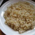 ゆずり葉 - 玄米ごはん