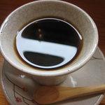 ゆずり葉 - 食後のコーヒー