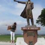 さっぽろ羊ヶ丘展望台 オーストリア館  - 『少年よ、大志を抱け!(Boys, be ambitious.)』で有名なクラーク博士の銅像がある羊ヶ丘(さっぽろ羊ヶ丘展望台)。