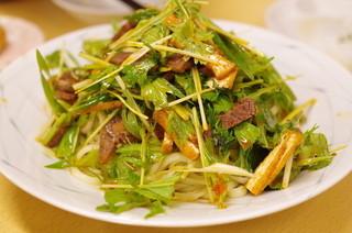京の華 - 牛肉乾麺