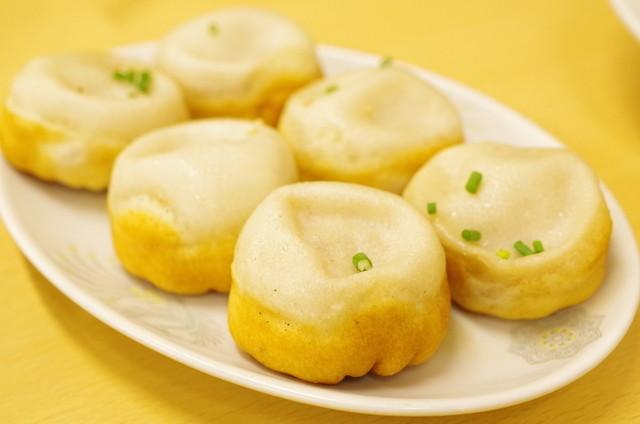 京の華 - 焼き小籠包(生煎馒头)