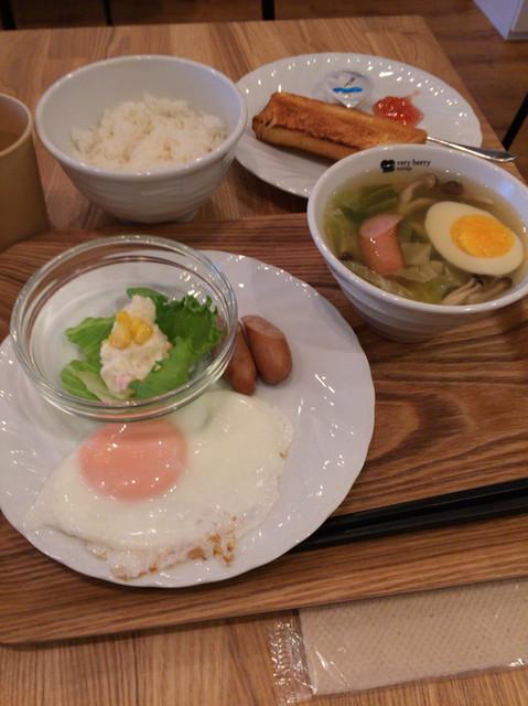 ベリー ベリー スープ アパホテル浅草橋店 - 朝のスープセット(前売¥700,当日¥900)