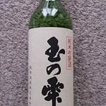 嶋崎酒造 - ドリンク写真:玉の雫(たまのしずく)純米吟醸720ml ¥1540